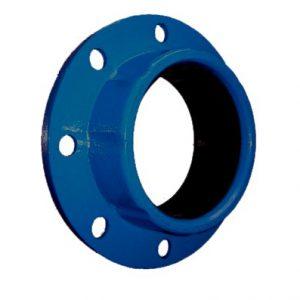 Adaptador de brida hierro dúctil para PVC
