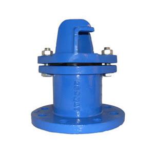 Cabezal para hidrante a resorte hierro dúctil