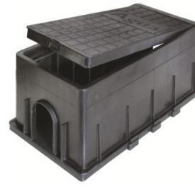 Caja para medidor de agua poliamida - 400 x 200 x 200mm