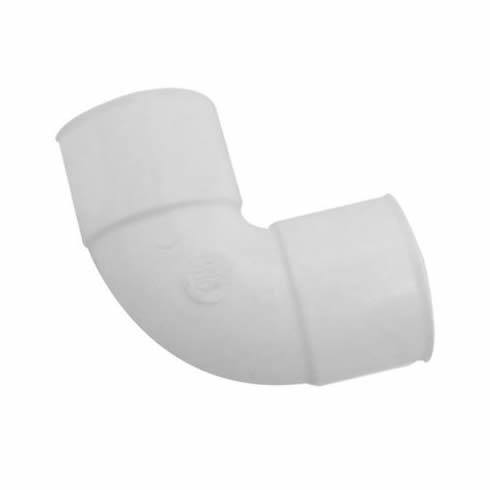 Codo / Curva cloacal a 90º HH junta pegar PVC inyectado