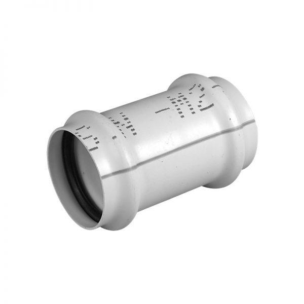 Cupla deslizante / manguito cloacal PVC junta elástica
