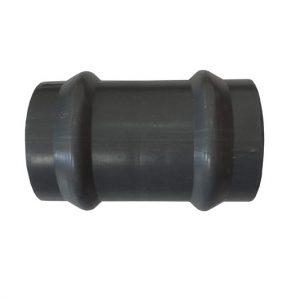 Cupla (manguito) presión Clase 10 junta elástica PVC