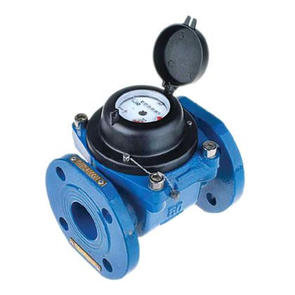 Macro medidor de agua a turbina tipo Woltmann