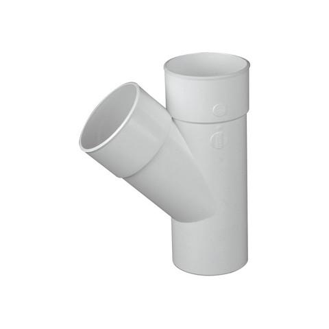 Ramal Tee cloacal a 45º MHH junta pegar PVC inyectado