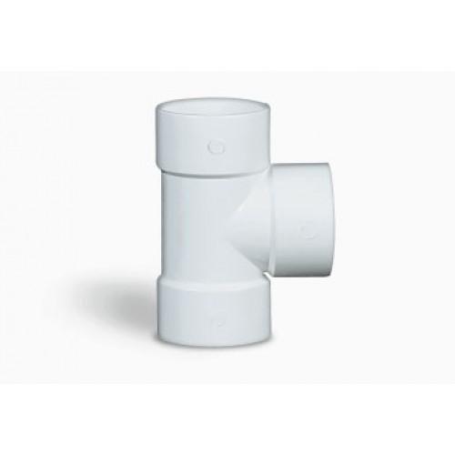 Ramal Tee cloacal a 90º HHH junta pegar PVC inyectado