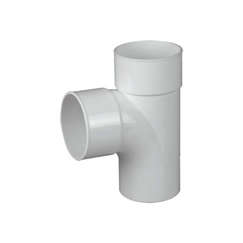 Ramal Tee cloacal a 90º MHH junta pegar PVC inyectado