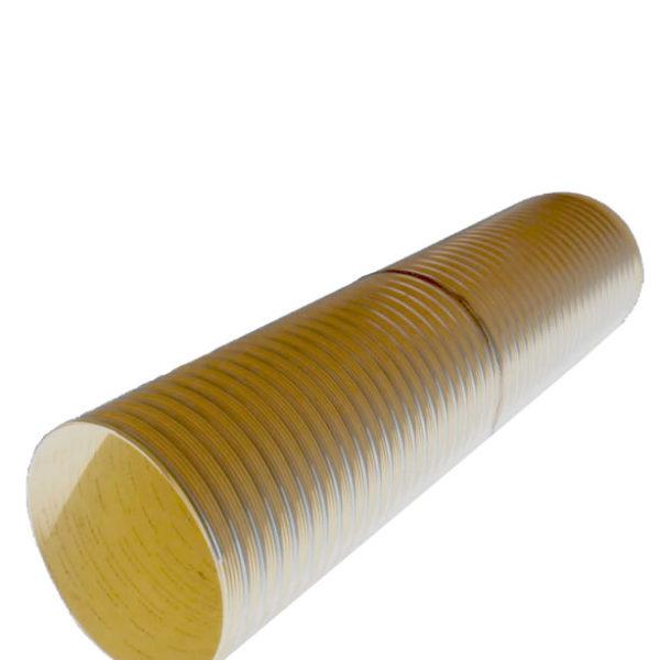 Tubo estructural corrugado de PVC con refuerzo de acero ribsteel