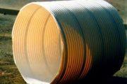 Tubo estructural corrugado de PVC con refuerzo de acero ribsteel 02