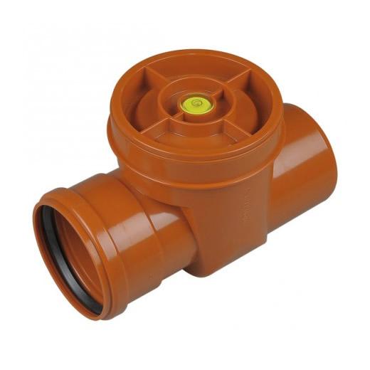 Válvula anti-retorno PVC a clapeta