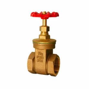 Válvula esclusa de bronce doble prensa
