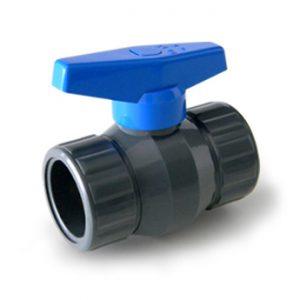 Válvula esférica PVC soldable junta pegar